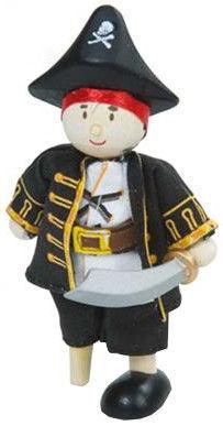Le Toy Van Wooden Leg Captain BK976