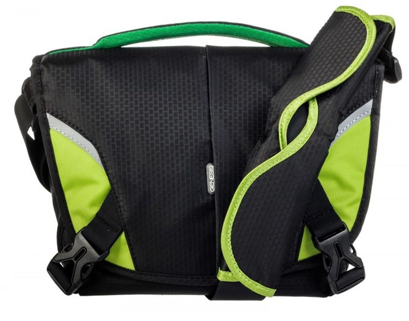 Genesis Boston Foto Bag Black/Green