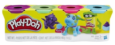 Hasbro PlayDoh 4-Pack Bright Color B6510