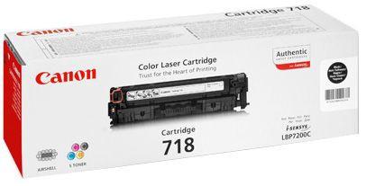Lazerinio spausdintuvo kasetė Canon 718 Toner Black
