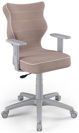 Vaikiška kėdė Entelo Duo Size 6 JS08 Grey/Beige, 425x400x1045 mm