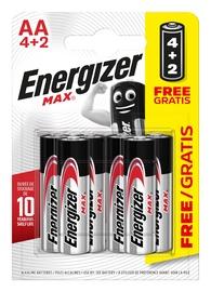 Energizer PowerSeal Technology Battery AA x 6