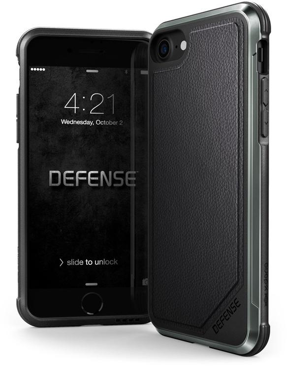 X-Doria Defence Lux Back Case For Apple iPhone 7/8 Black