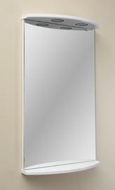 Veidrodis MN Kersa 03, su apšvietimu, kabinamas, 46.8x75 cm