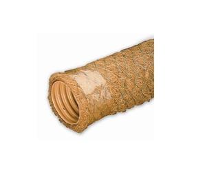 Gofrēta drenāžas caurule ar kokosa šķiedru filtru Wavin, Ø 80/ 92 mm