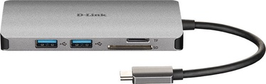D-Link 8-in-1 USB-C Hub