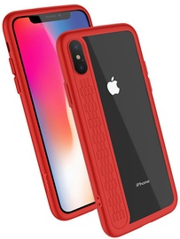 Hoco Premium Star Shadow Back Case For Apple iPhone X Red