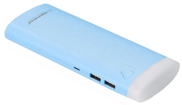 Uzlādēšanas ierīce – akumulators (Power bank) Esperanza EMP114 Fermion, 10000 mAh, zila