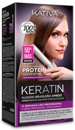 Kativa Keratin Brazilian Straightening Xpress Set 3pcs
