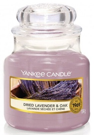 Свеча Yankee Candle Classic Small Jar 104g Dried Lavender & Oak, 30 час