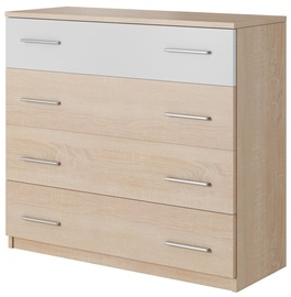 WIPMEB Markos Chest Of Drawers Sonoma Oak/White