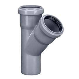 Vidaus kanalizacijos trišakis HTplus, Ø 50 / 50 mm, 45°