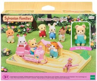 Žaislinė figūrėlė Epoch Sylvanian Families Baby Choo-Choo Train With Bear Baby 5320