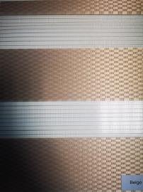 Veltņu aizkari Domoletti Rattan D&N, smilškrāsas, 1300 mm x 2300 mm