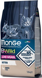 Monge BWild Low Grain Kitten Goose 1.5kg