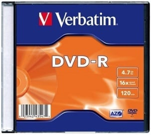 Verbatim DVD-R 4.7GB 20pcs