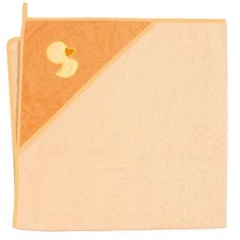 Milli Bath Towel 100x100cm Duck Orange