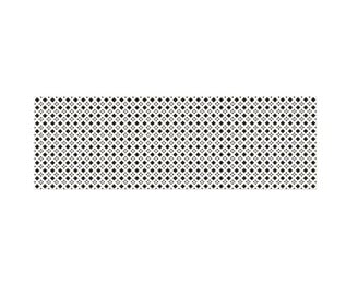 Cersanit Pattern Wall Tiles D 20x60mm Black/White