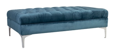 Pufas Home4you Mayers Sea Blue, 141x65x40 cm