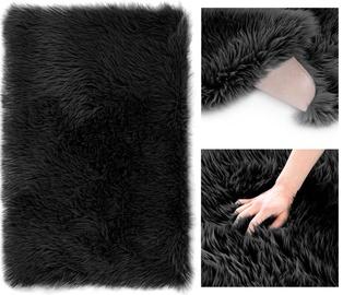 AmeliaHome Dokka RUG/AH Carpet Nonslip Black 50x150cm