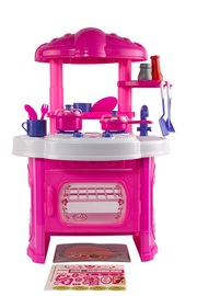 SN Toy Kitchen With Accessories Pink 614000408