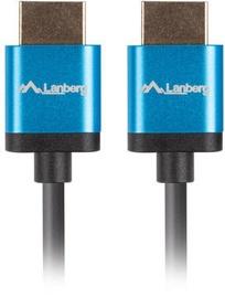Lanberg v2.0 4K HDMI Cable 0.5m Black