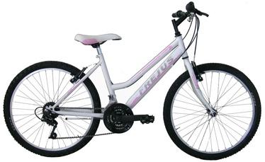"""Jalgratas Frejus 24"""" MTB White Pink"""