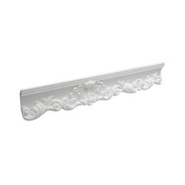 Lubų apdailos juostelės 09006 KD, balta, 200 x 7.2 cm