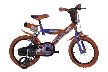 """Vaikiškas dviratis Dino Bikes 163G-SA 2021, mėlynas/raudonas, 10.5"""", 16"""""""