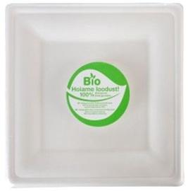 Ursus Plates Set  Biodegradable 10pcs Square