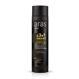 Dušo želė, šampūnas ir kondicionierius vyrams Aras a3x1 Smart, 250 ml