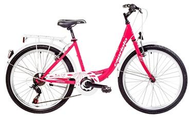"""Jalgratas Capriolo Ella 24"""" Pink 18"""