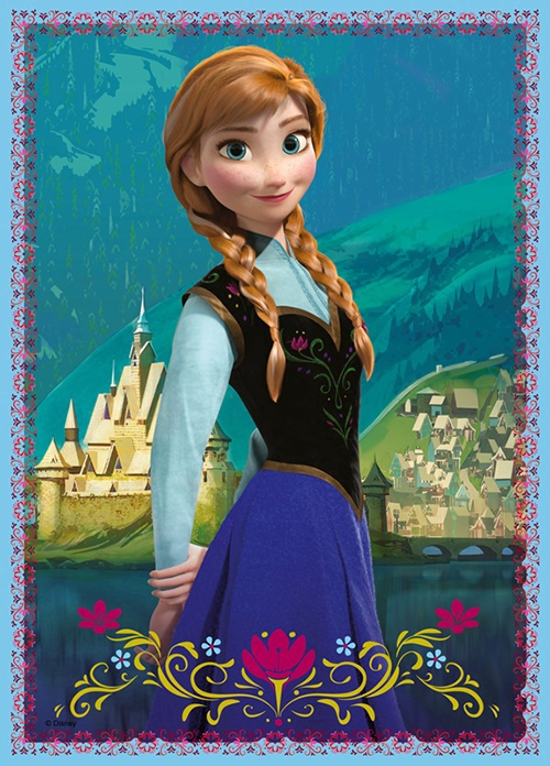 Puzle Trefl Frozen 34210 4 gab.
