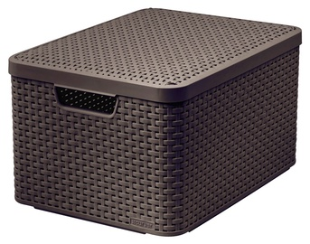 Dėžė Curver Style, su dangčiu ir rankena, 44,5 x 33 x 24,8 cm