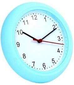 Platinet Sunday Decorate Wall Clock Blue