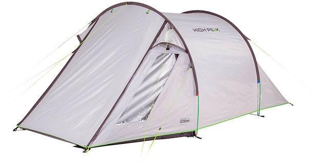 Trīsvietīga telts High Peak Ascoli 3 10251, pelēka