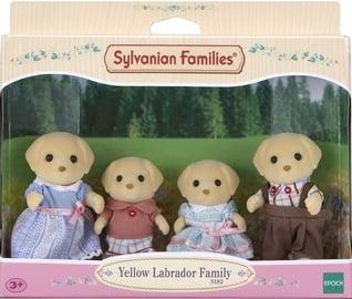 Žaislinė figūrėlė Epoch Sylvanian Families Yellow Labrador Family 5182