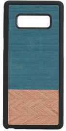 Man&Wood Denim Back Case For Samsung Galaxy Note 8 Black/Blue
