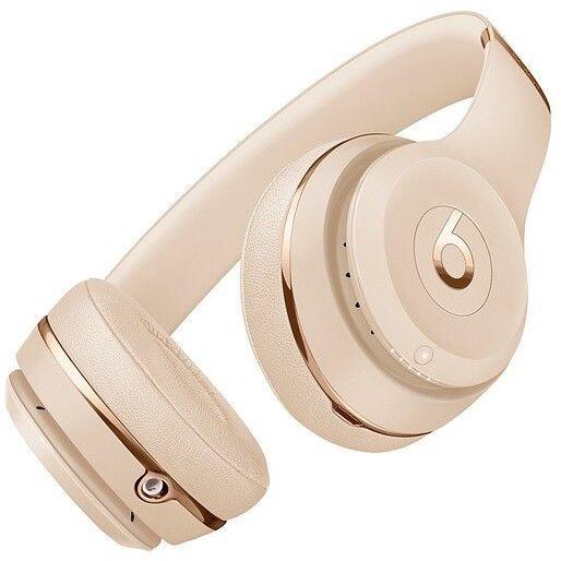 Ausinės Beats Solo 3 Satin Gold, belaidės