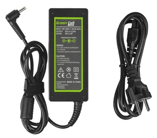 Lādētājs Green Cell Pro Series, 65 W, 1.2 m, 4.0 x 1.7 mm