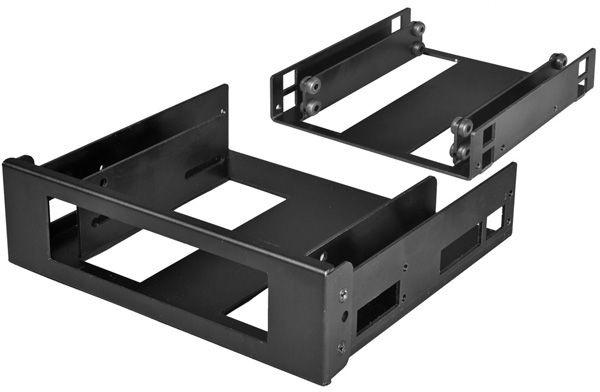 """Lian Li PT-FN06B 5.25"""" Fan Speed Controller + Internal 2.5"""" HDD Mounting Kit Black"""