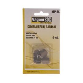 Baldų padukai Vagner SDH NEP-04, 24 mm, 4 vnt