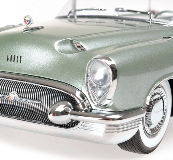 Minichamps Buick Wildcat 1 Concept 1953 Light Green Metallic