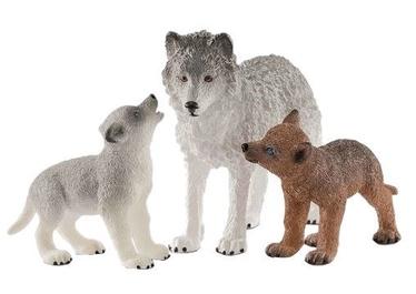 Rotaļlietu figūriņa Schleich Mother Wolf With Pups 42472