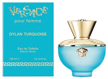 Tualetinis vanduo Versace Pour Femme Dylan Turquoise 100ml EDT