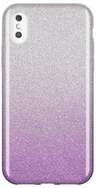 Wozinsky Glitter Shining Back Case For Apple iPhone XS Max Purple