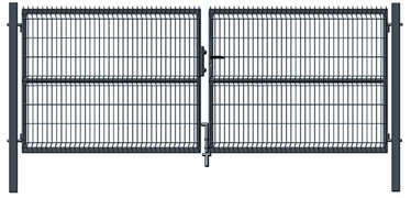 Garden Center Gate RAL7016 4000x1530mm Grey