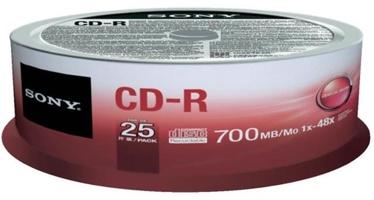 Sony CD-R 700MB 48x 25pcs