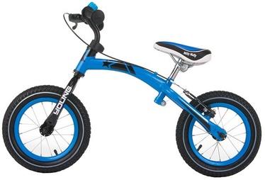 Vaikiškas dviratis Milly Mally Young Balance Bike Blue 0389