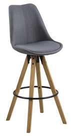 Home4you Dima Bar Stool Dark Grey